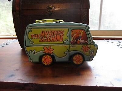 Scooby Doo Mystery Machine Metal Lunch Box Hanna Barbera