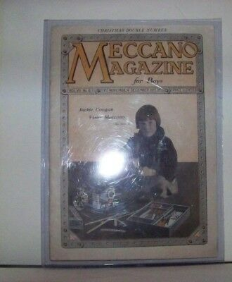 Vintage 1925 Old Magazine, Meccano Building Outfits, Engineering Sets For Boys!