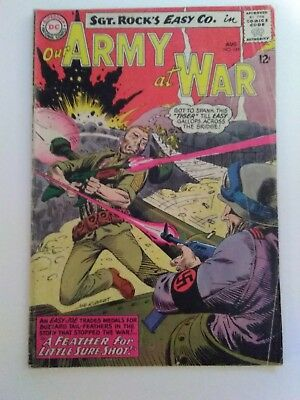 DC Comic Our Army at War # 145