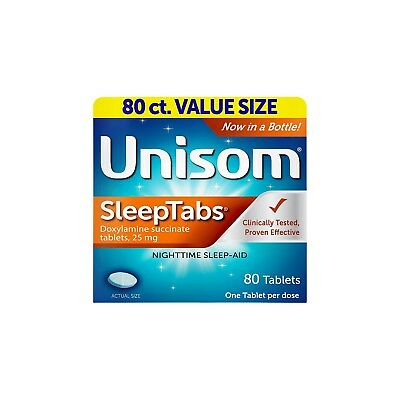 Unisom Sleeptabs Nighttime Restful Sleep-Aid Tablets - 80 Ea