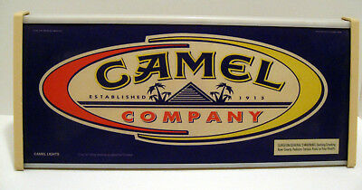 Vintage CAMEL Company Light Up Advertising Sign 1997 - Working Condition