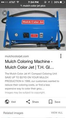 Mulch color jet colorizer