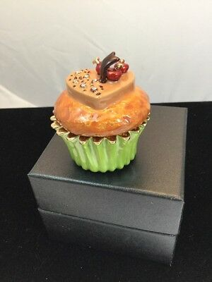 DELICIOUS CUPCAKE Trinket Box By KEREN KOPAL. Looks Great Next To CUP & SAUCER!!