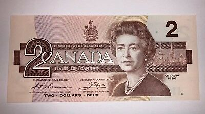 Canada 2 Dollars, 1986, P-94b, UNCIRCULATED