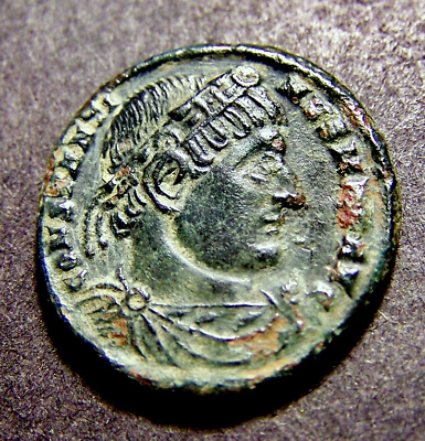CONSTANTINE I, Soldiers/Spears/Shields, Legions, Old France, Imperial Roman Coin