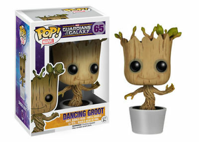 Funko Pop Marvel:  Guardians Of The Galaxy - Dancing Groot #65