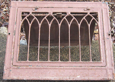 Antique Furnace Register Heater Wall Grate Cover Architectural Salvage