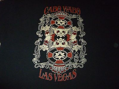 Cabo Wabo Shirt ( Used Size XL ) Very Good Condition!!!