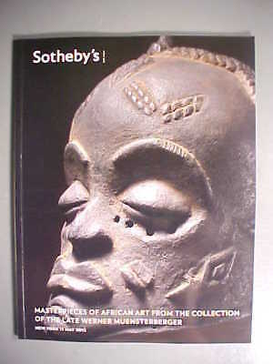Sotheby 5/11/12 Masterpieces of African Art - Tribal masks