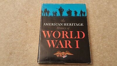 American Heritage History Of World War 1 Hc Coffee Table Sized Book