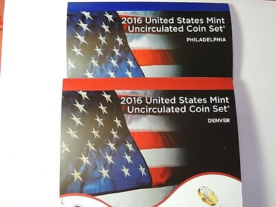 2016 Mint Set in Original Mint Plastic 26  Uncirculated US Coins