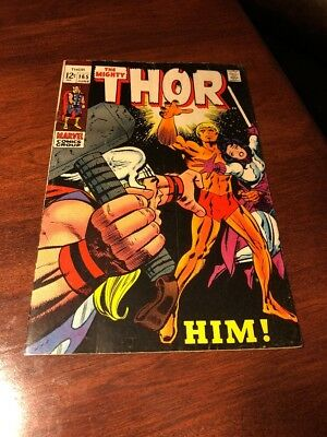 The Mighty Thor 165 ! * 1st Appearance Him ! Warlock ! * June 1969
