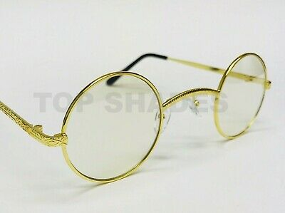3fffb746d93d Fashion Vintage Retro Wood Buffs Migos Eyeglasses Round Frame Clear Lens  Glasses