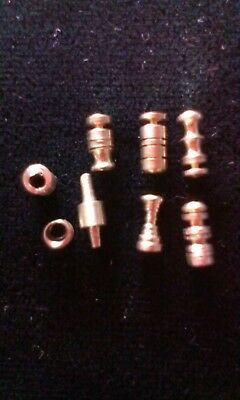 Challenge/Security Pins. practice/anti bump, hand made tumbler lock pins lot#32
