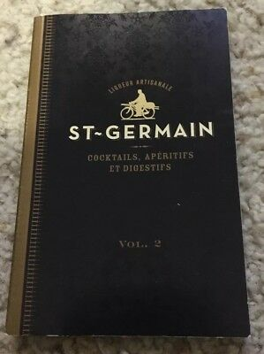 St~Germain Cocktails Recipe Book Vol. 2 - Great Book In Good Condition