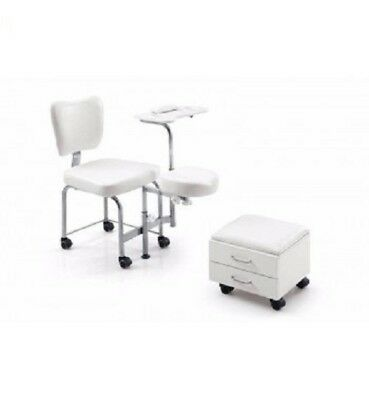 Pedicure Foot Spa Chair Hydraulic Spa Station With Foot rest New