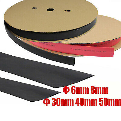 Heat Shrink Tubing 2:1 Tube Sleeving Heatshrink Wrap Cable Φ 6mm 8mm 30mm 40mm