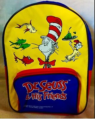 Dr seuss backpack bag tote travel camping kids * Back To School