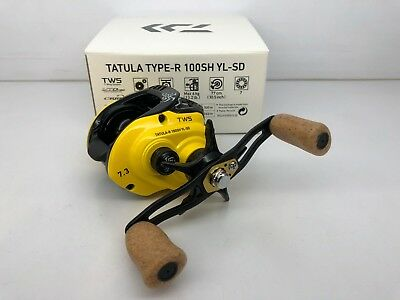 DAIWA Tatula Type R 100SH YL-SD 7.3 Right Limited edition cork Reel&Chmcl Light