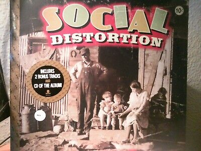 Social Distortion-Hard Times and Nursery Rhymes DLP in Rot OVP