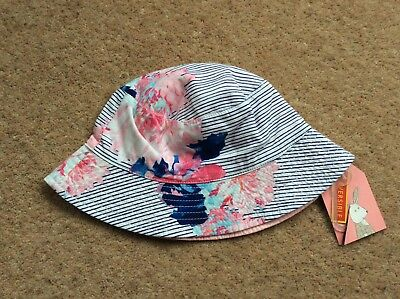 Joules Reversible Hat BNWT Age 1-2 Years