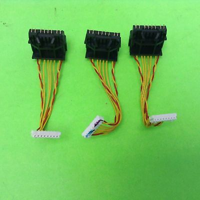HP Designjet 1055CM Plus C6075B Industrial Red Yellow with Twists Cable