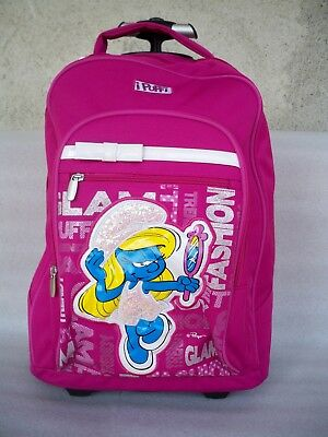 Big Trolley I Puffi Glitter Glam Seven Junior Sj Zaino Scuola