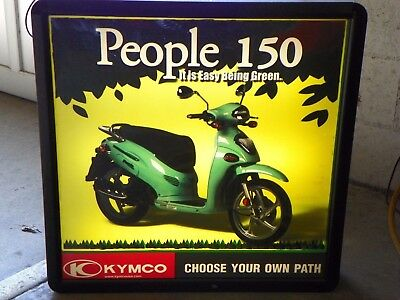 KYMCO Lighted advertising sign (People 150) - FREE SHIPPING