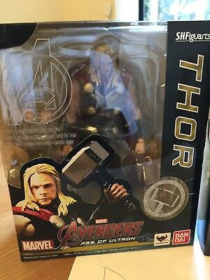 Bandai S.H. Figuarts Thor The Avengers Age of Ultron Complete Figure Authentic