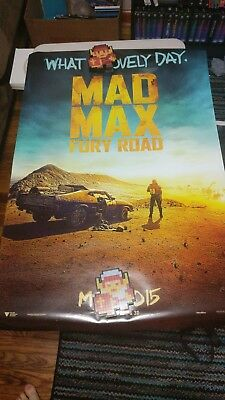 Mad Max: Fury Road Original D/S Advance Rolled Movie Poster 27 x 40 NEW 2015