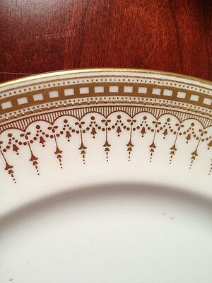Royal Doulton Gold Design  China Luncheon Plate Early 1900 retired pattern E4865