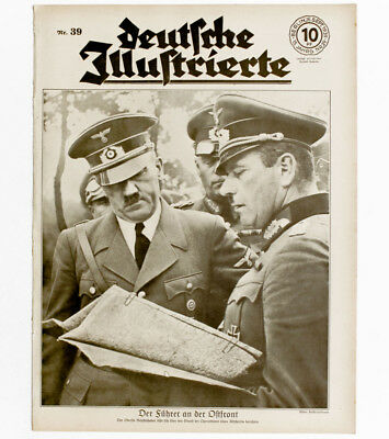1939 German Leader  and generals in Eastern front  German army occupy Poland WW2