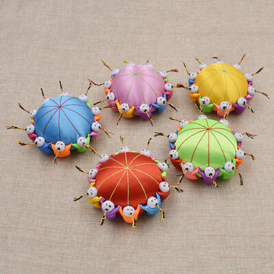 DIY Fabric Sewing Needle Pin Holder Cut Doll Cushion China Handmade Craft Random
