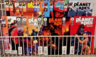 PLANET of the APES #1-6 Human War #1-3 Photo AND Art Covers J SCOTT CAMPBELL