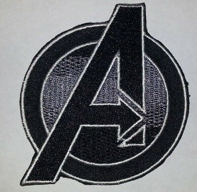 """The Avengers Patch~3"""" x 2 5/8""""~Embroidered Applique~Marvel~Iron or Sew on"""