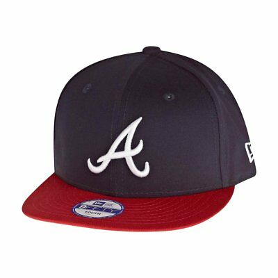 New Era 9Fifty Snapback KIDS Cap - Atlanta Braves navy - Youth