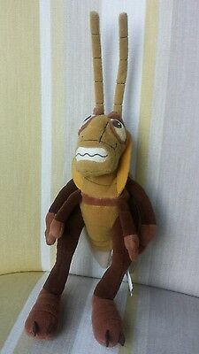 "Hopper Grasshopper from Disney A Bugs Life 14"" plush soft toy"