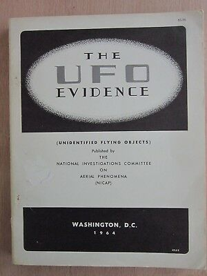 The UFO Evidence by Richard H. Hall (Paperback 1964)