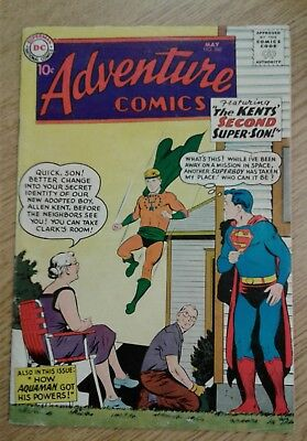 Adventure Comics #260 1st Silver Age Aquaman Origin Issue!! Complete Comic!!