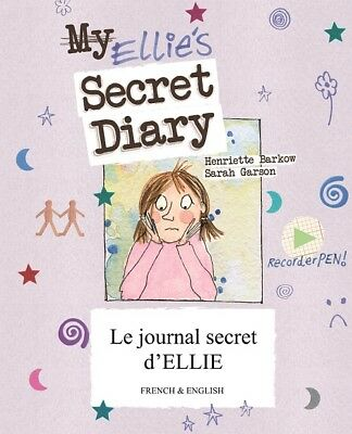 Ellies Secret Diary - Bilingual French & English Childrens Book