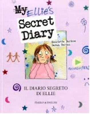 Ellies Secret Diary - Bilingual Italian & English Childrens Book