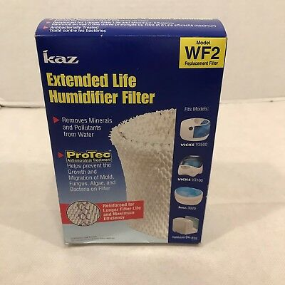2 Pack KAZ WF2 Replacement Humidifier Filters