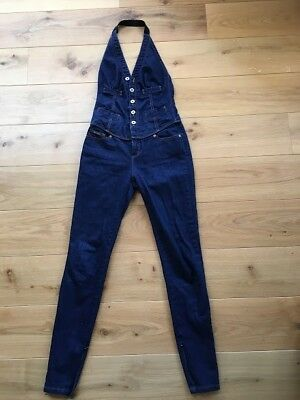 BARGAIN: Dolce and Gabbana, Designer Denim Jumpsuit, Fitted, Great Condition