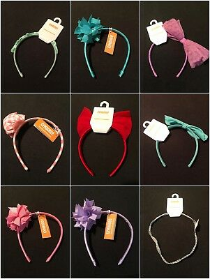 NWT Gymboree Girls Hair Accessories Clips and Headbands Many Kinds