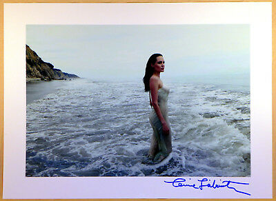 Annie Leibovitz Autogramm auf Foto Angelina Jolie Hollywood Actress