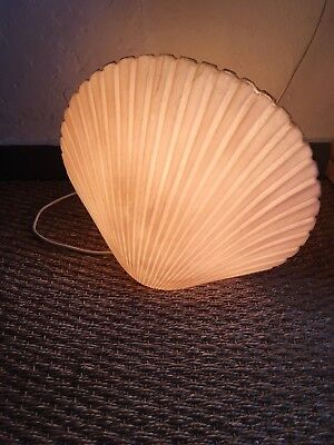 lampe coquille coquillage design andré cazenave années 70