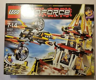 LEGO Exo-Force The Humans Fight for the Golden Tower (8107) New