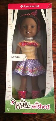 KENDALL DOLL - WELLIE WISHERS BY AMERICAN GIRL New