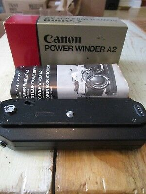 Beautiful Canon Power Winder A2 for A Series, EX++ NEVER USED