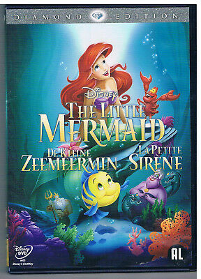The Little Mermaid 1989 (Diamond Edition 2013 DVD) Remastered